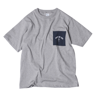 AWAY OF LIFE POCKET T SHIRTS
