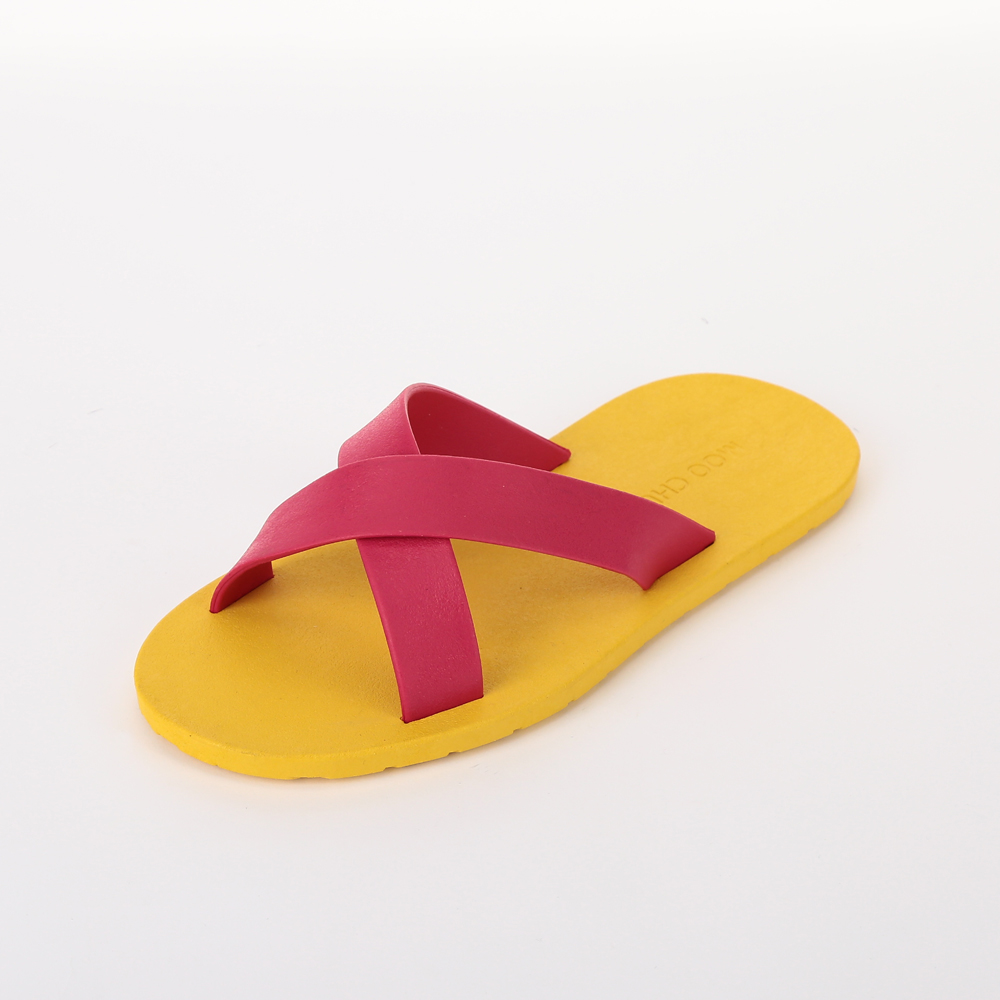 MC02 Cross, Yellow-Hot pink