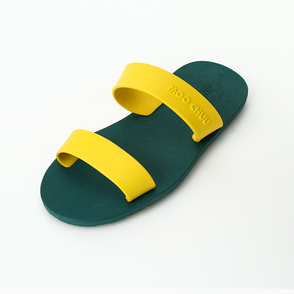 MC03 Two Straps, Green-Yellow