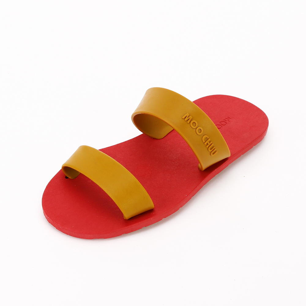 MC03 Two Straps, Red-Caramel