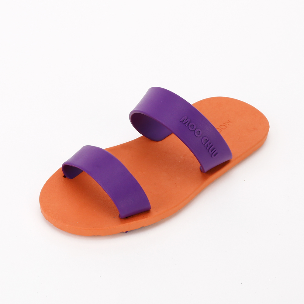 MC03 Two Straps, Orange-Violet