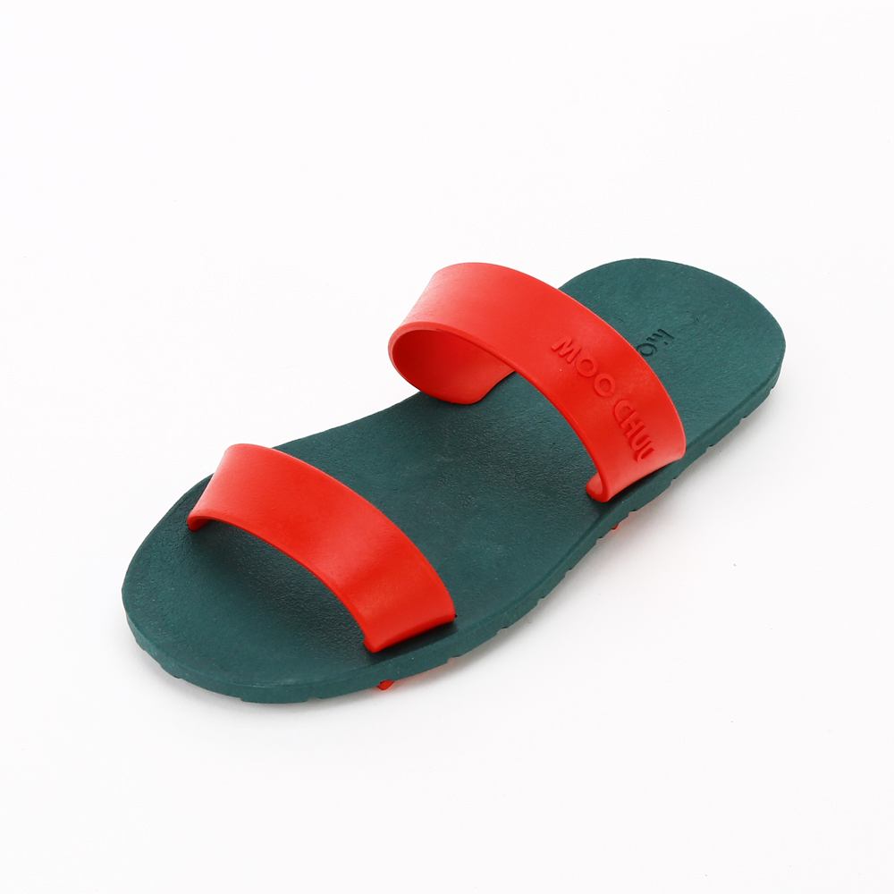 MC03 Two Straps, Green-Red