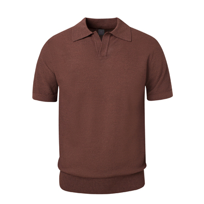 PAUL Open Collar_Brown