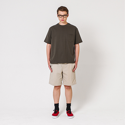 Pocket T-shirt Khaki
