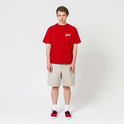 Simple Authentic T-shirt Red
