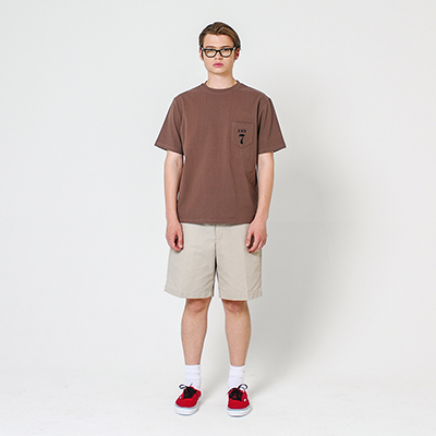 USN T-shirt Brown