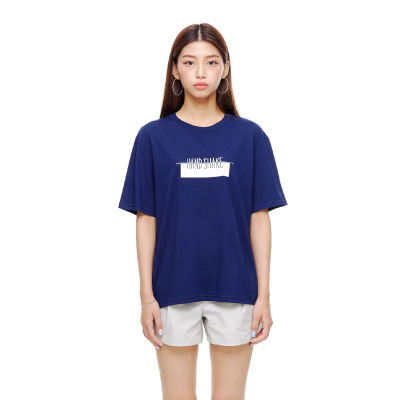 LOGO T-SHIRTS (BLUE-NAVY)