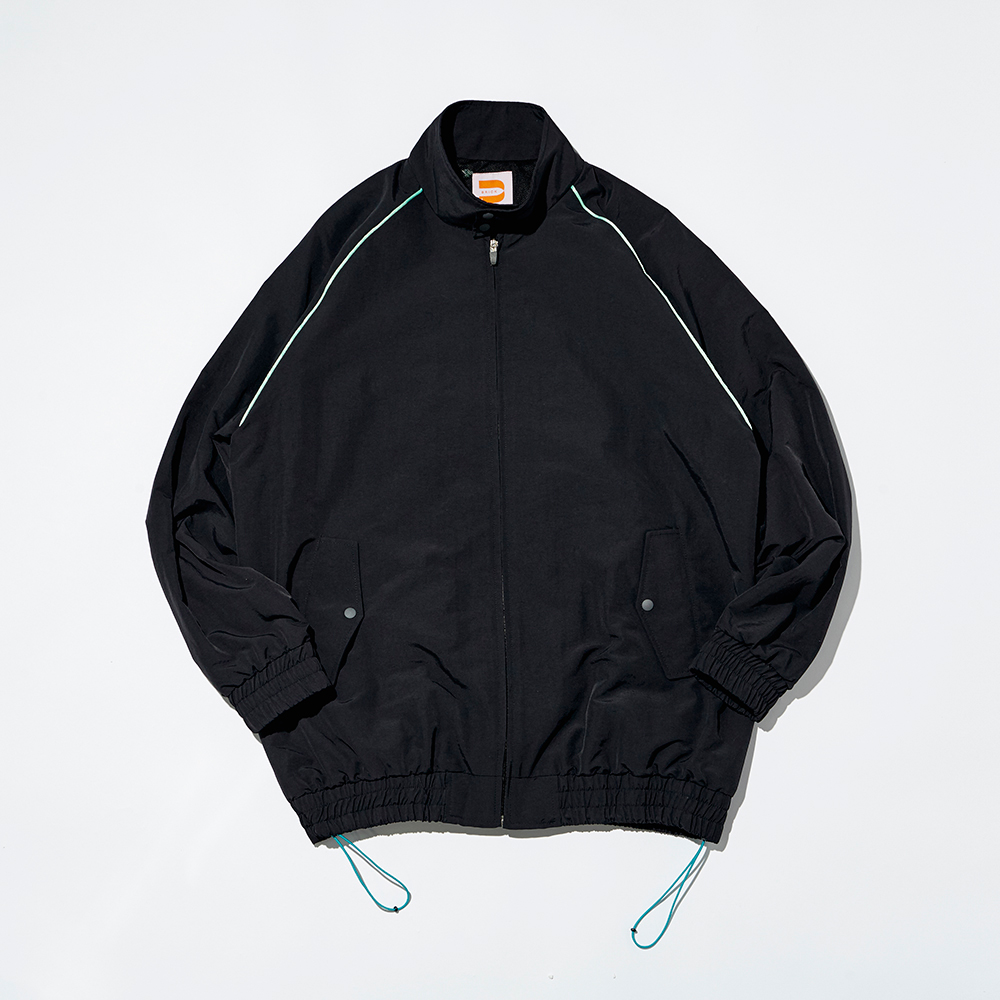 NYLON G-9 HYBRID JACKET_BLACK