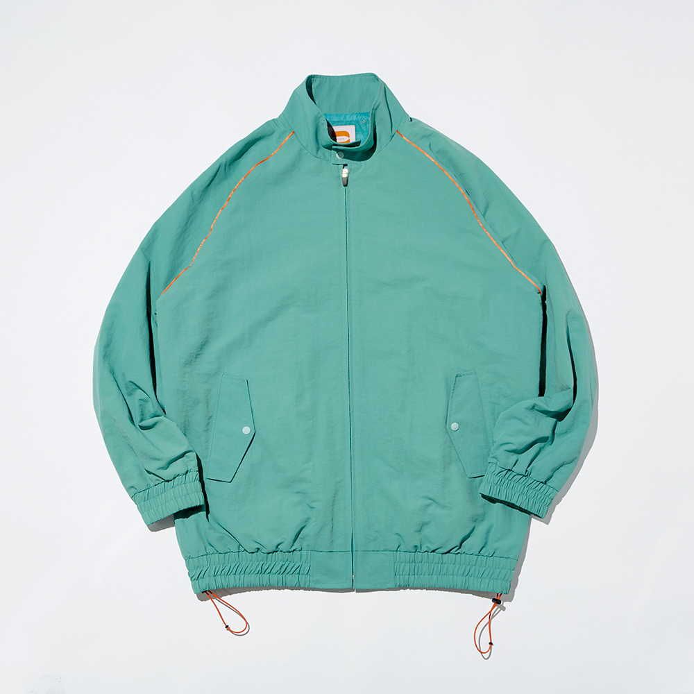 NYLON G-9 HYBRID JACKET_GREEN