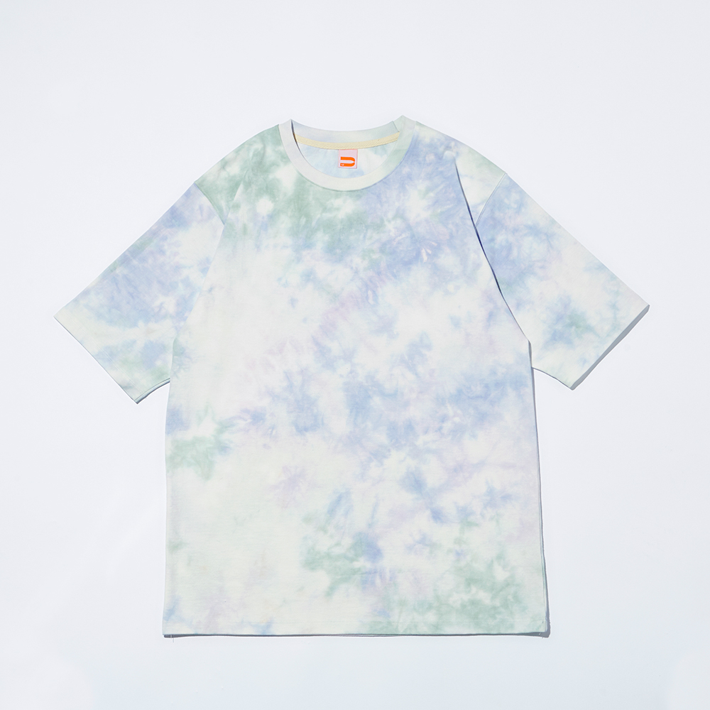 CHIPPER TIE-DYE T-SHIRTS_BLUE WOOD