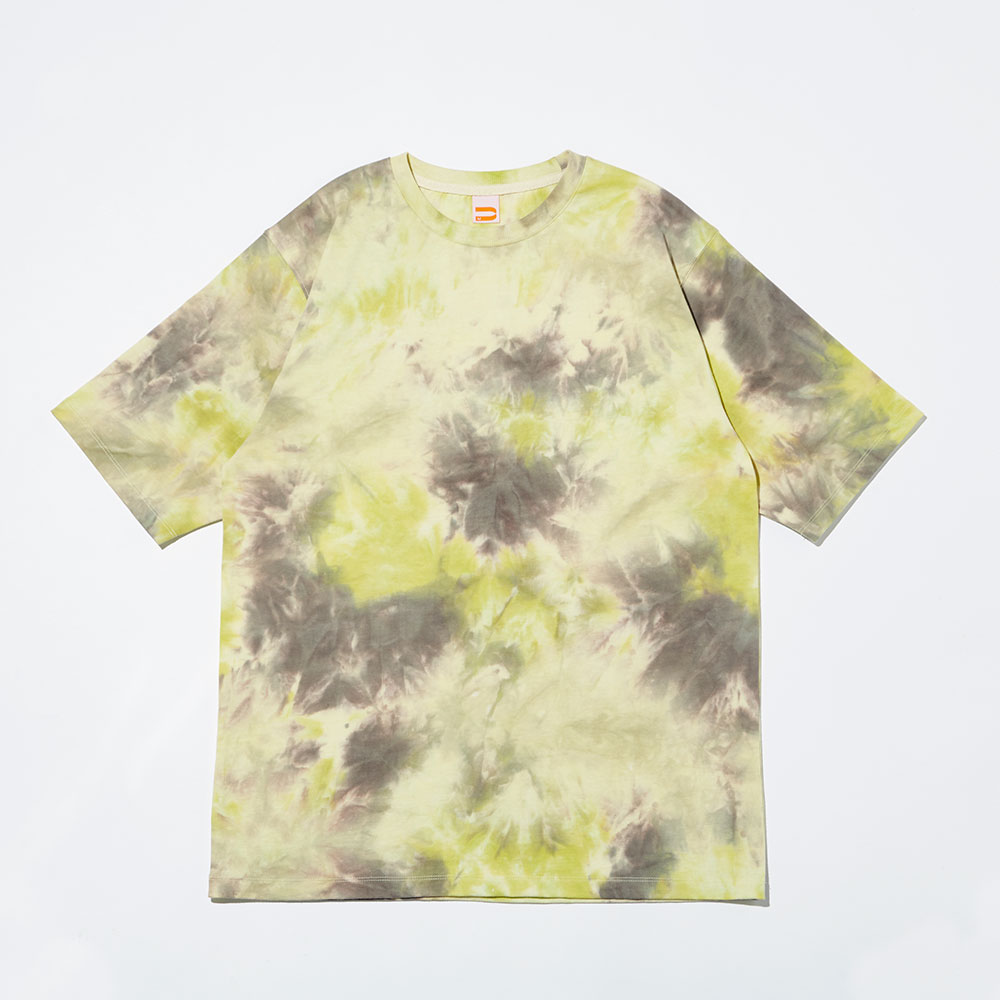 CHIPPER TIE-DYE T-SHIRTS_YELLOW WOOD