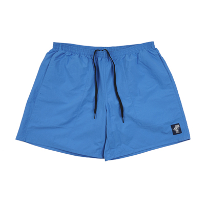 Vinyl Logo Swim shorts Blue