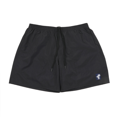 Vinyl Logo Swim shorts Black
