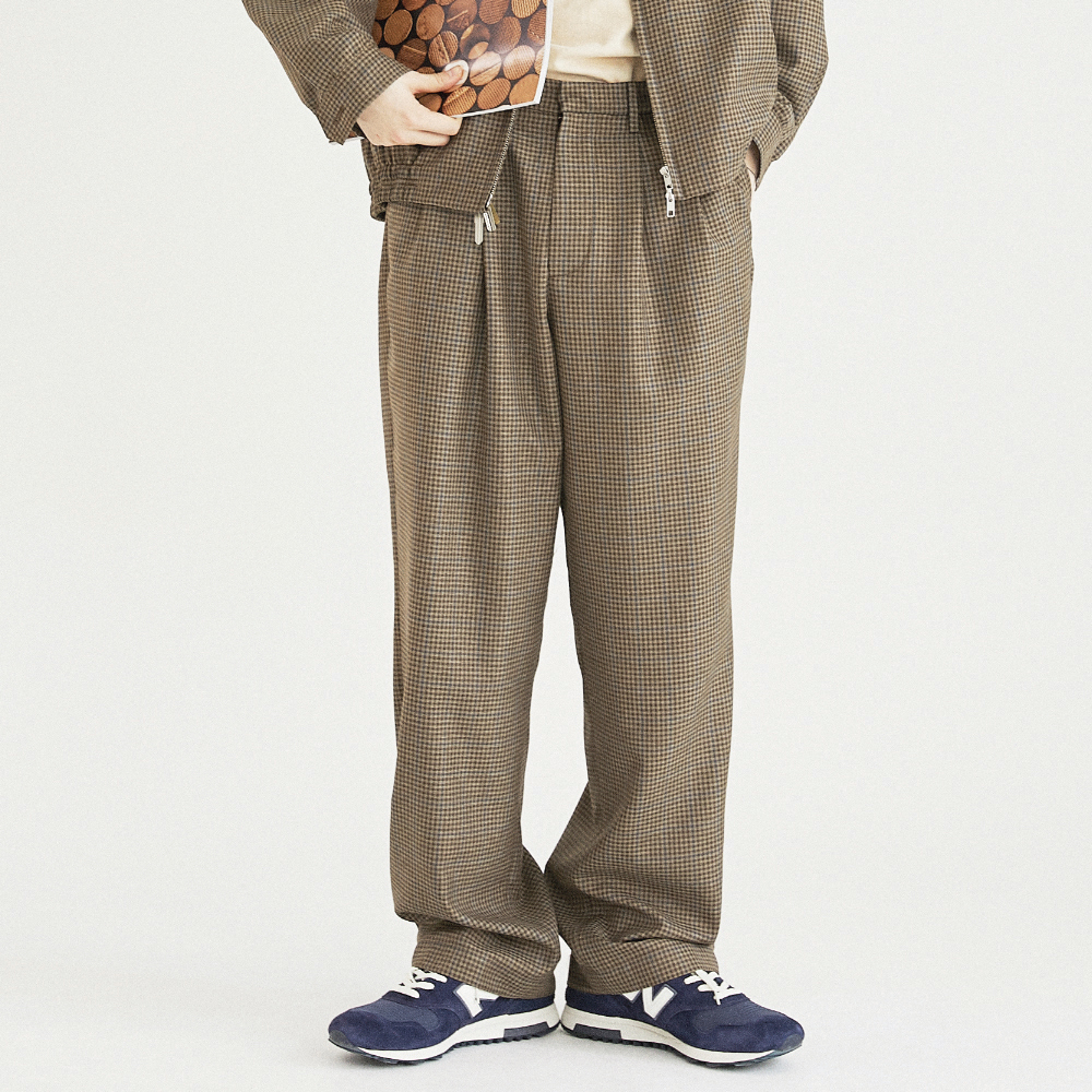 RETRO DADDY PANTS (BROWN)