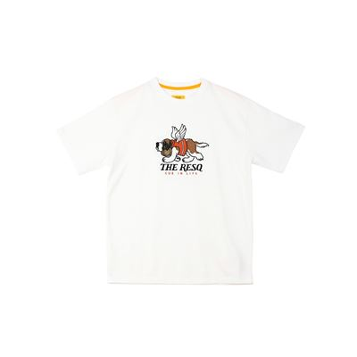 BARRY GRAPHIC TEE [IVORY]