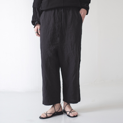 UNISEX_Straight_Linen_Pants_bk