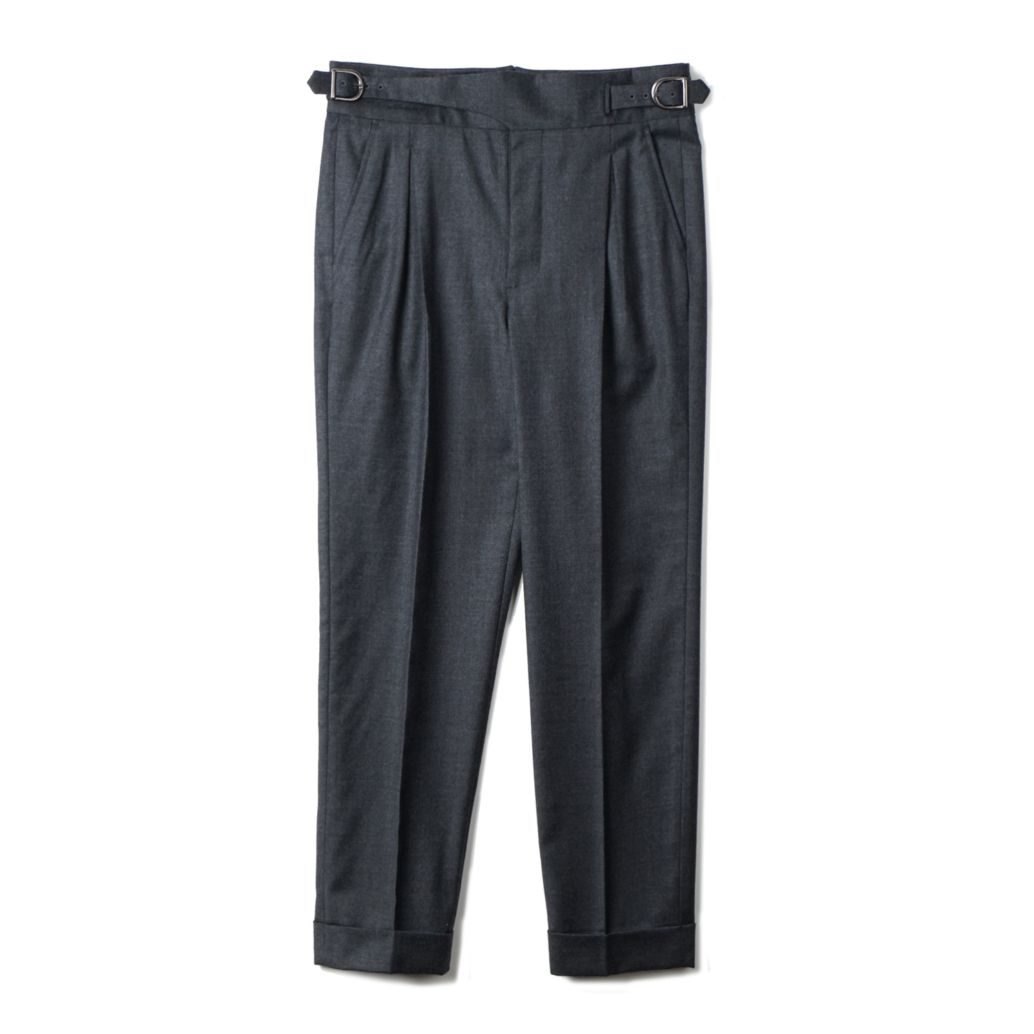 TJA Wool Gurkha Pants - Grey