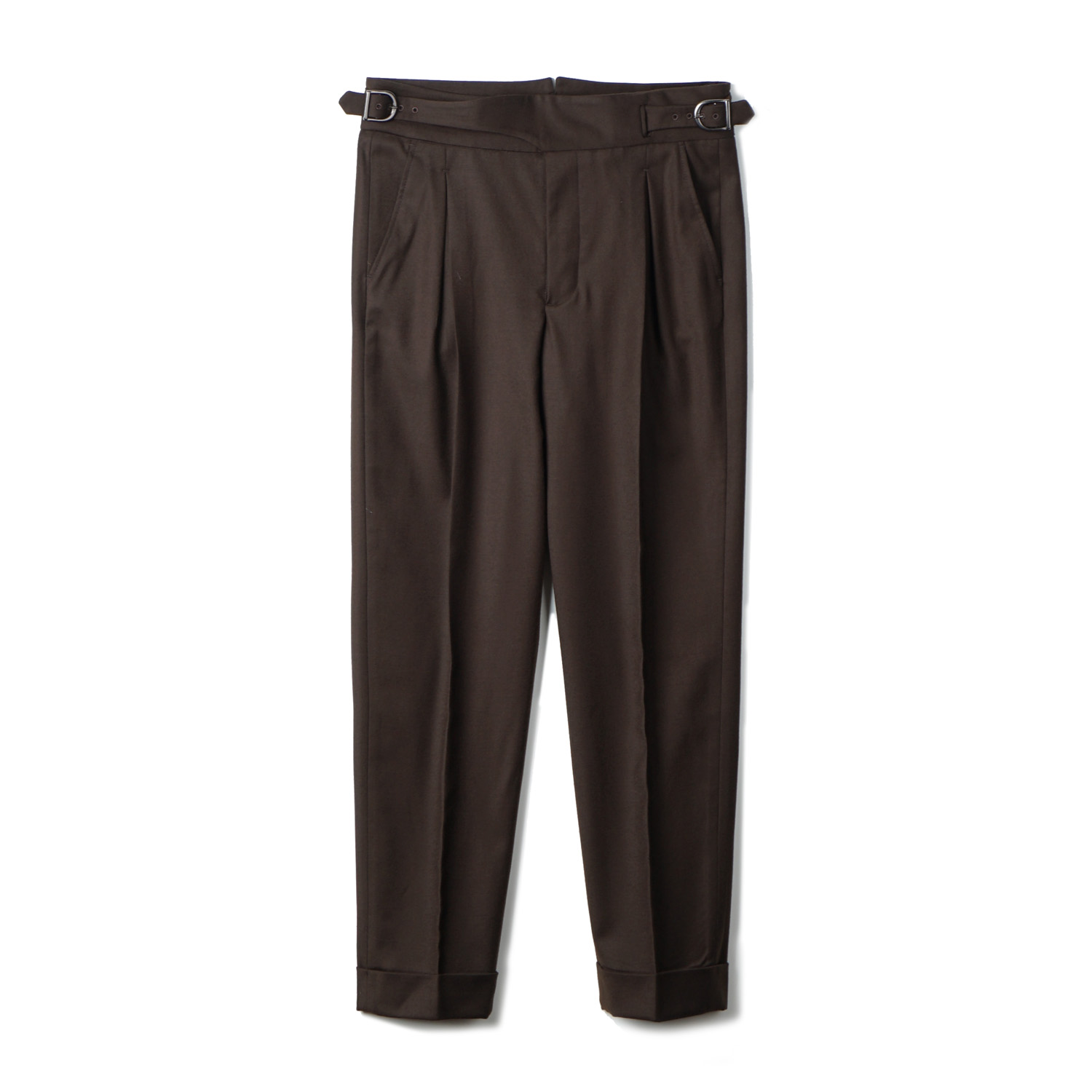 TJA Wool Gurkha Pants - Brown