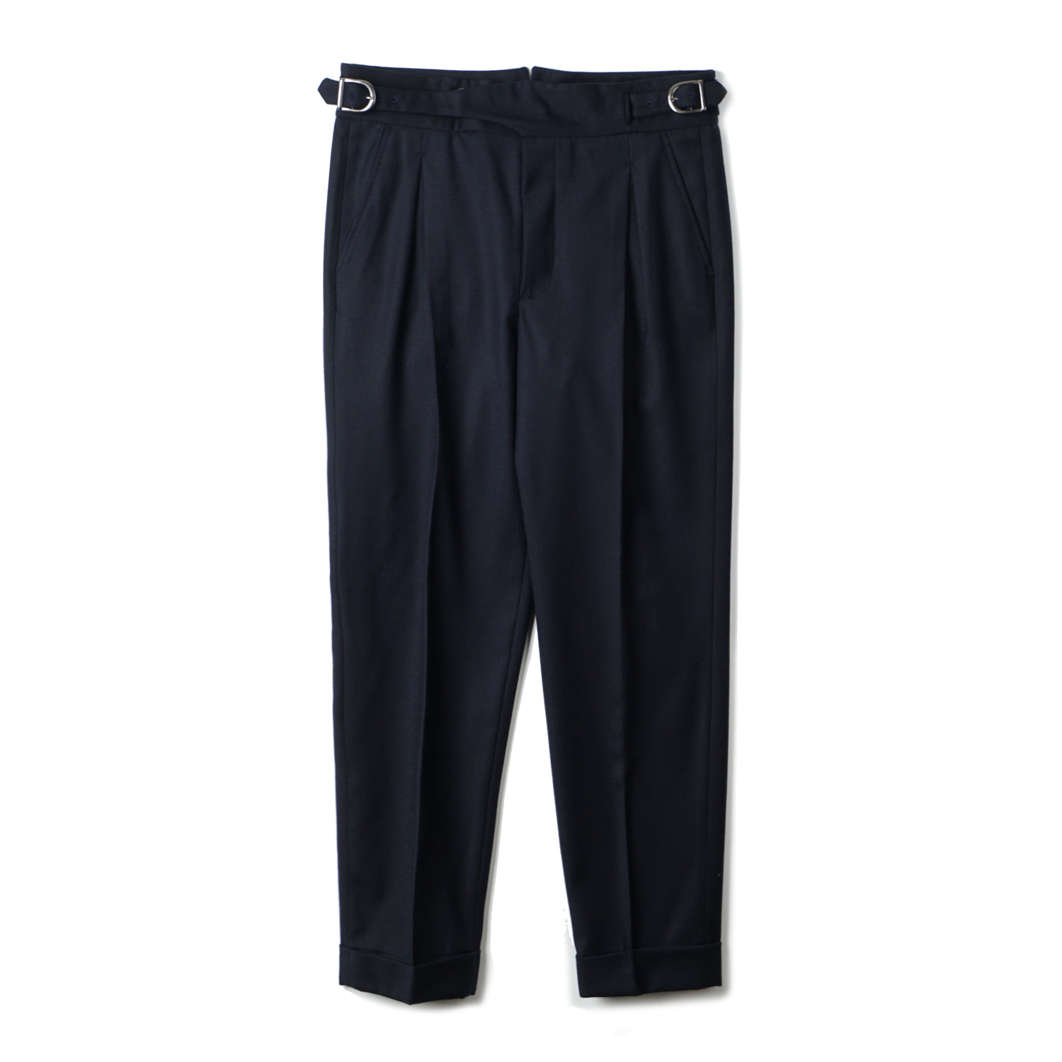 TJA Wool Gurkha Pants - Navy