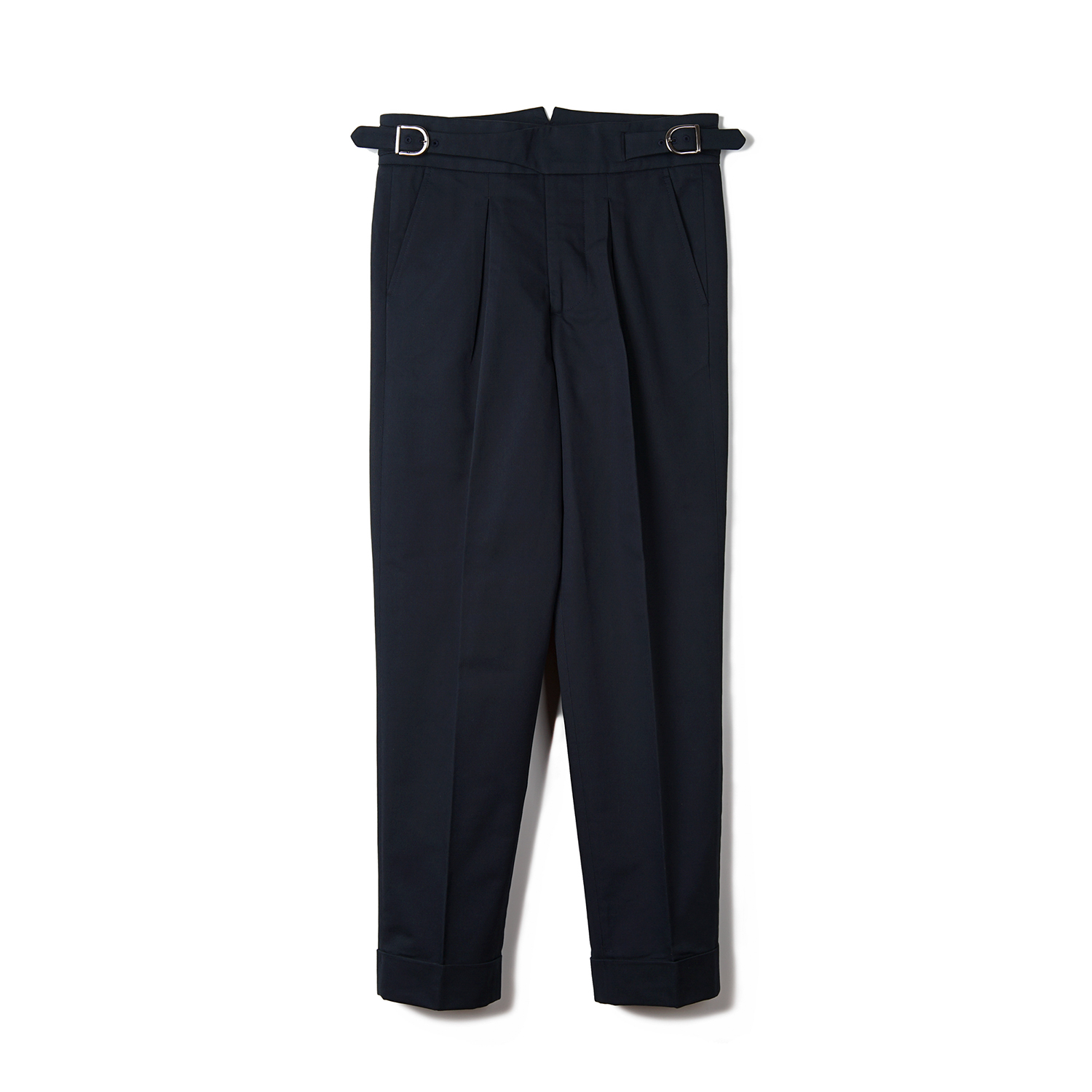 BTS Cotton Gurkha Pants - Navy