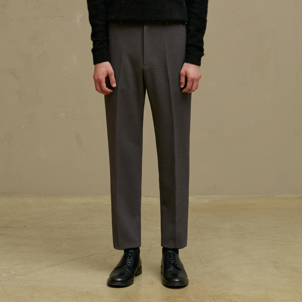 [09월17일 순차배송] MGREY SLIM FIT TROUSERS (TC1PTVF0801)
