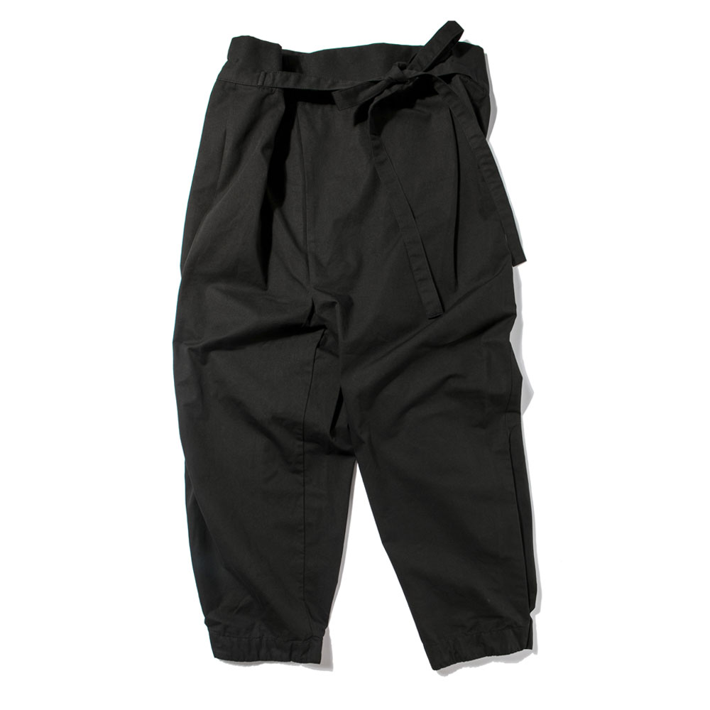 [RYOO]_Symmetric_Pants #1 [black]
