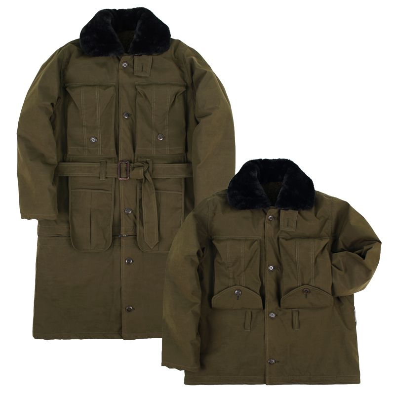 TRANSFORM OFFICER HEAVY LONG COAT [Khaki]