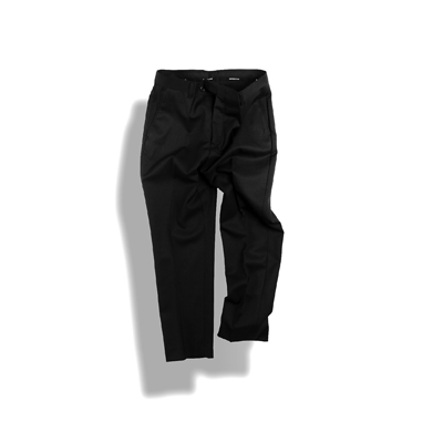[09월21일 순차배송] BIRTHDAYSUIT : MODS TROUSERS (BLACK)