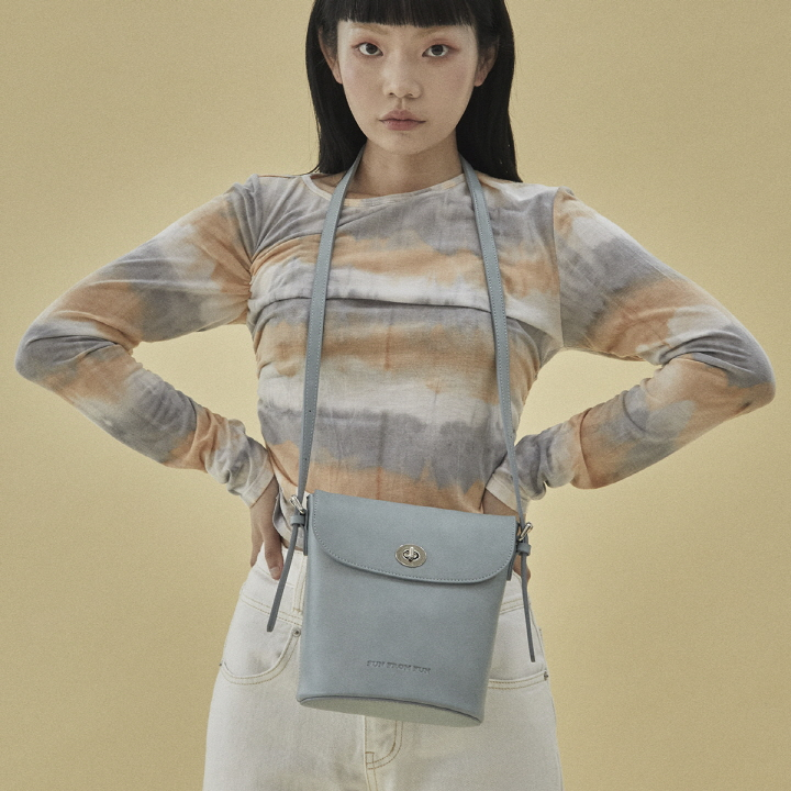 [10/22 출고예정]Rachel vintage shoulder bag (mint)