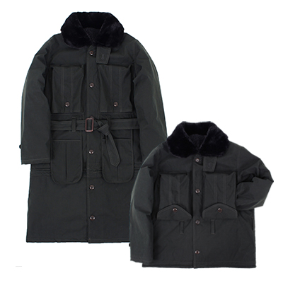 [oco단독] TRANSFORM OFFICER HEAVY LONG COAT [Dark grey]