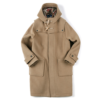 DETACHABLE DUFFLE COAT (CAMEL)