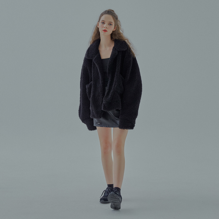 COSY OVER JUMPER (black)