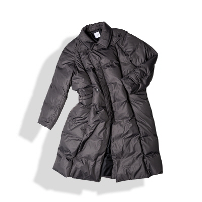 MAXI RAP DOWN COAT / SMOKE (12/06 예약배송)