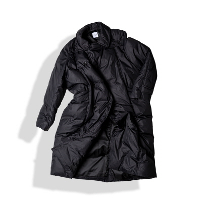 MAXI RAP DOWN COAT / BLACK (12/06 예약배송)