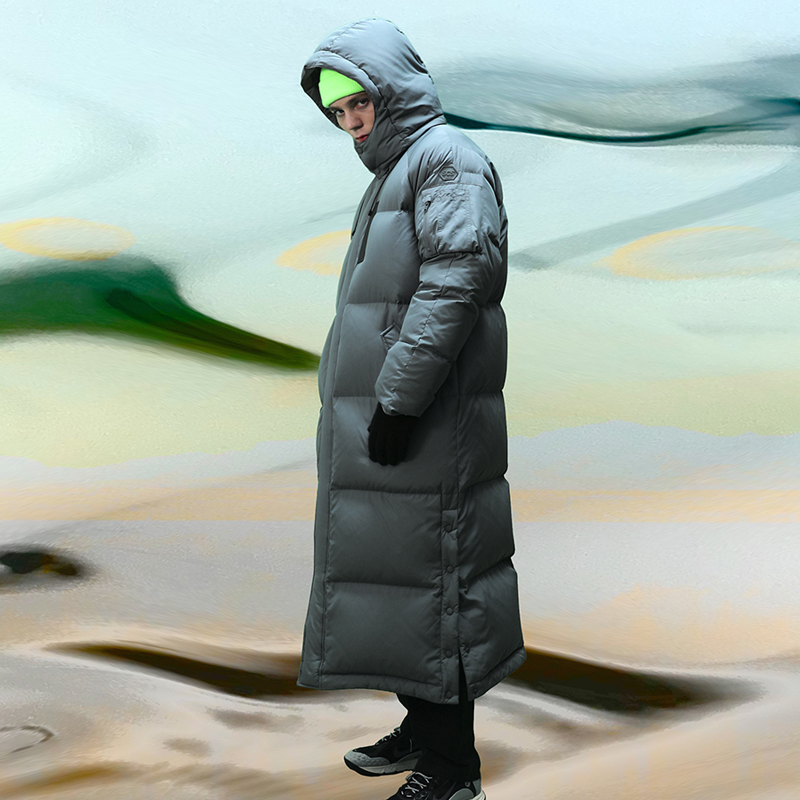 [FW18 SV] Stereo MA-1 Long Down Parka(Grey)