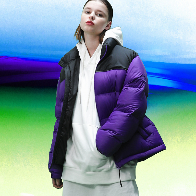 [FW18 SV] Stereo Basic Goose Down Parka(Purple)