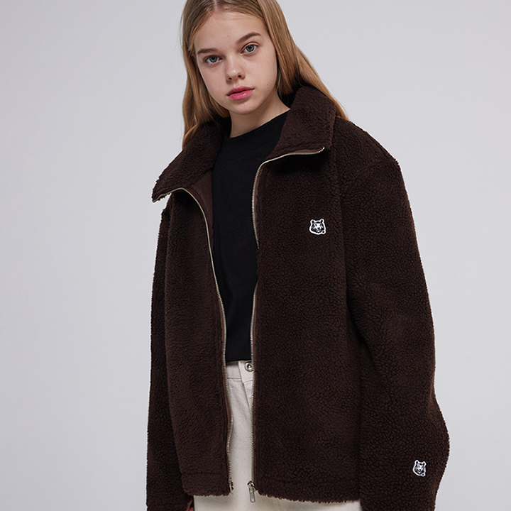 MG9F DUMBLE BASIC JACKET - BROWN