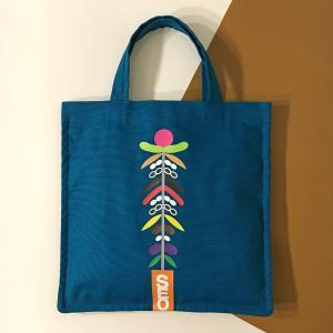 square big tote bag - BL