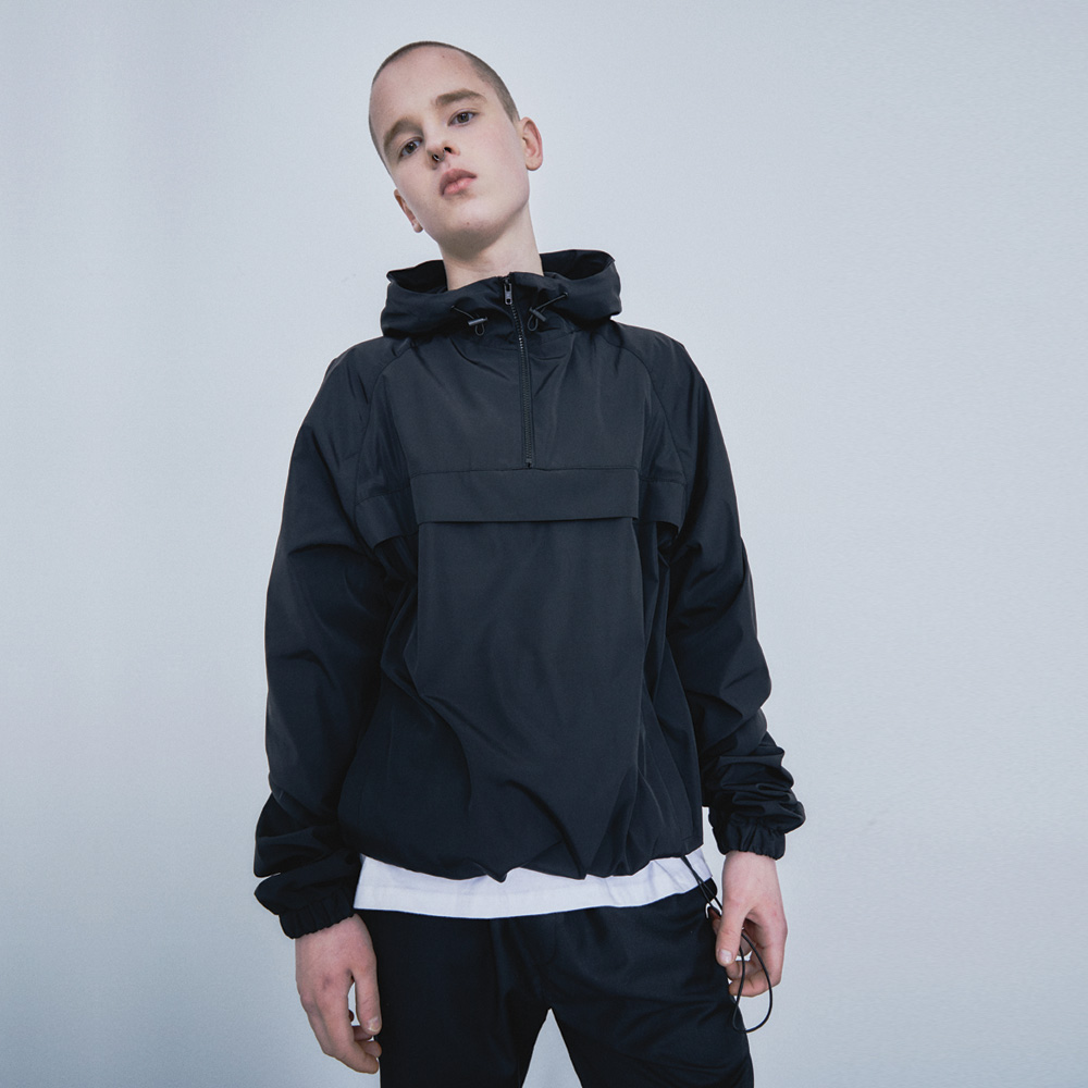 WING ANORAK [black]