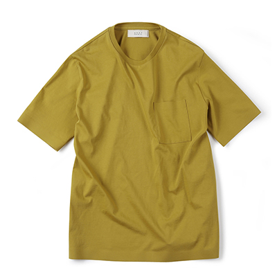 SEAMLESS HEM T-SHIRT (GOLDEN LIME)